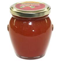 Medový krém s jahodami 250g